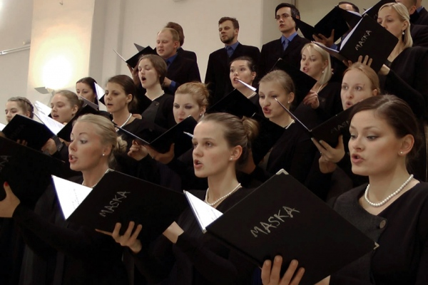 'Dievzemīte II' performed by choir Maska, conductor Jānis Ozols, 16 July 2015